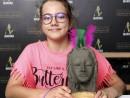 Scoala de Vara Modelaj Lut Portret nord american Maria 3 130x98 Scoala de Vara, 2018 – Galerie Foto