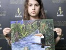Scoala de Vara Pictura Acrilic pe panza Peisaj Jungla Amazoniana Smaranda 130x98 Scoala de Vara, 2018 – Galerie Foto