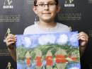 Scoala de Vara Pictura Acrilic pe panza Peisaj Jungla Amazoniana Stefan 130x98 Scoala de Vara, 2018 – Galerie Foto