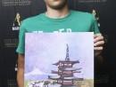 Scoala de Vara Pictura Acrilic pe panza Peisaj Pagoda Luca 130x98 Scoala de Vara, 2018 – Galerie Foto