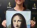 Scoala de Vara 2019 Anul da VInci Pictura Mona lisa Ilinca 130x98 Scoala de Vara, 2019 – Galerie Foto