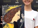 Scoala de Vara 2019 Anul da Vinci Pictura Acrilic Bunavestire Ileana 130x98 Scoala de Vara, 2019 – Galerie Foto